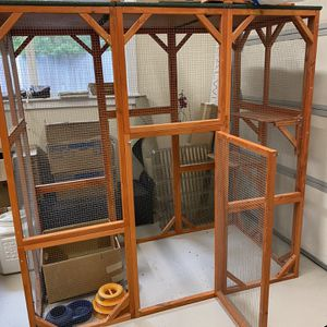 Cage To Keep Cats Outdoors Safe Or Bird Aviary for Sale in Edmonds, WA