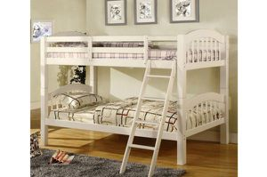 Brand New White Twin Size Bunk Bed for Sale in El Monte, CA