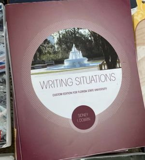 FLORIDA STATE UNIVERSITY TEXT BOOKS 3 copies for Sale in VLG WELLINGTN, FL
