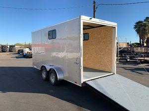7x16 ENCLOSED TRAILER for Sale in Phoenix, AZ