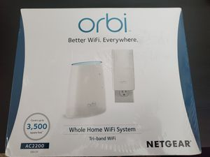 NETGEAR RBK30 Orbi Mesh WiFi System AC2200 Router for Sale in Pittsburgh, PA