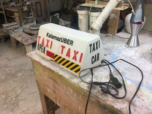 Light up pizza sign used for taxi driving for Sale in Battle Creek, MI