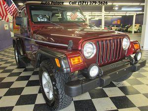 2001 Jeep Wrangler Sport 4WD 2dr SUV for Sale in Manassas, VA
