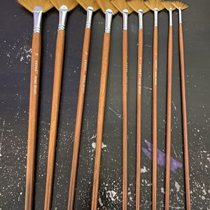 Fan Paint Brushes for Sale in Lancaster, TX