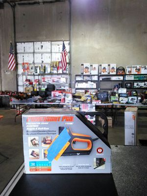 Power Shot pro contractor grade electric staple and nail gun for Sale in Phoenix, AZ