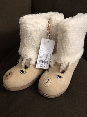 Cat & Jack little girls size 12 winter boots for Sale in Glendora, CA