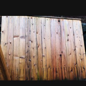 6x8 Fence and wood Make Offer for Sale in Redmond, WA