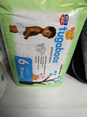 Diapers size 6 for Sale in Murfreesboro, TN