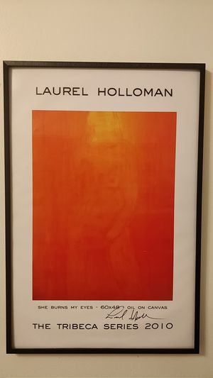 Signed Laurel Holloman (The L Word) print for Sale in Seattle, WA