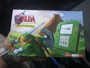 Zelda edition Nintendo 2ds with box and console includes 4gb memory card for Sale in Westminster, CO