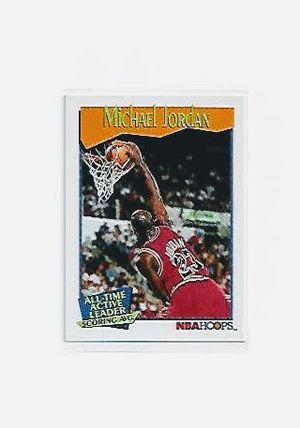 1991-92 NBAHoops #536 Michael Jordan Basketball Card for Sale in Hialeah, FL