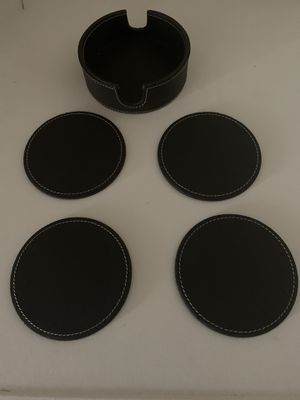 New 4 coasters set with storage containers to be organized for Sale in San Jacinto, CA