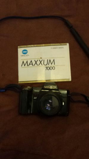 Minolta camera for Sale in Raleigh, NC
