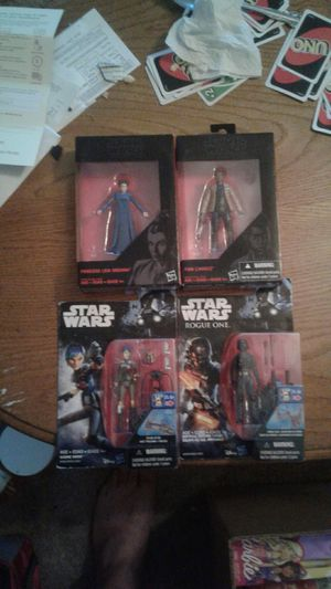 Collection of star wars action figures for Sale in Freedom, IN