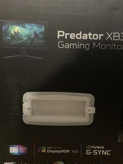 "Acer Predator XB273K 27"" 4K 144Hz IPS for Sale in Bellevue,  WA"