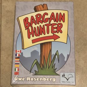 Bargain Hunter Board Game - New and Sealed for Sale in Anaheim, CA