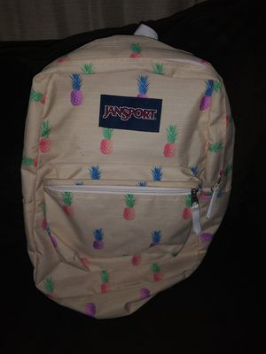 JanSport 25 Ltrs Pineapple Punch Casual Backpack (JS00T50148L) for Sale in Miami, FL