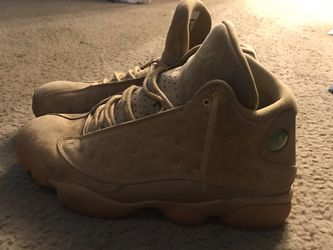 """wheat"" Jordan Retro 13s,size 11 for Sale in Raleigh,  NC"