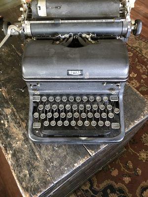 Antique Royal Typewriter for Sale in Missoula, MT