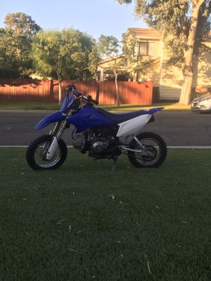 Yamaha TTR 50 kids motorcycle, PINK IN HAND AND REGISTERED TILL 2021 for Sale in Menifee, CA