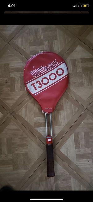 Vintage Wilson T3000 1970s tennis racket Steel Metal used for Sale in Glendale, AZ