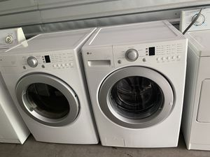 LG washer and dryer set for Sale in Lakewood, WA