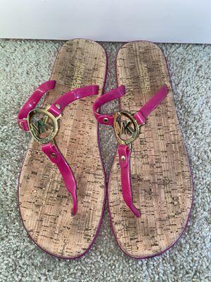 Michael Kors Pink Sandals for Sale in San Antonio, TX
