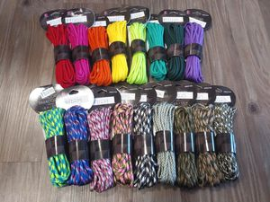 18 FOOT PLUS Paracord MANY COLORS 17 total for Sale in Fullerton, CA