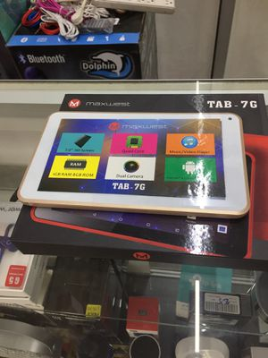 Maxwest kids tablet w/games for Sale in Mesquite, TX
