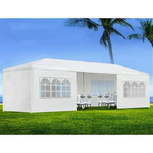 Huge 10' x 30' Outdoor Party Wedding Canopy Shelter With Side Walls & Windows for Sale in Hemet, CA