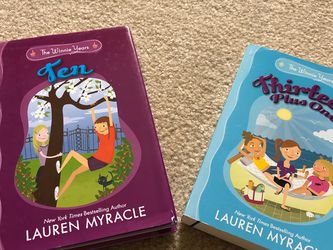 Lauren Myracle Set Of 2 Hardcover Books for Sale in Smyrna,  TN