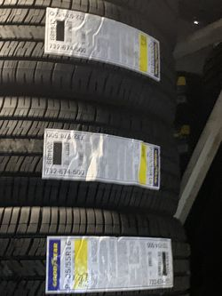 New Goodyear 205/55/16 for Sale in Inglewood,  CA