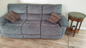 Couch w/ 2 Recliners for Sale in Desert Hot Springs, CA