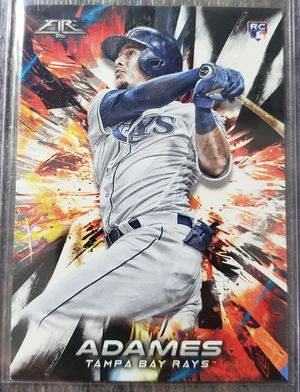 Willy Adames topps fire rookie card for Sale in Cicero, IL