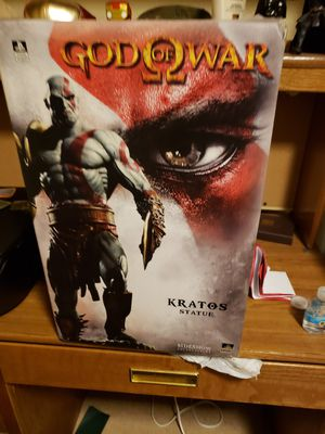 Collectible God of War statue for Sale in El Paso, TX