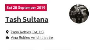 Tash Sultana ticket Paso Robles for Sale in Paso Robles, CA