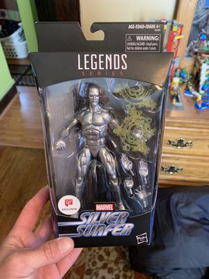 Marvel legends silver surfer figure new $30 cash for Sale for sale  Clifton, NJ