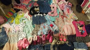 Kids clothes sizes 4 to 6 and a few smaller and bigger most 4/6 over 150 pieces that's less than a dollar an item! great deal for Sale in Salt Lake City, UT