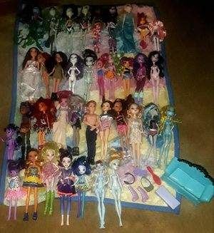 Monster High dolls forever after dolls and more for Sale in Virginia Beach, VA