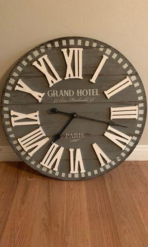 "24"" clock for Sale in Calimesa, CA"