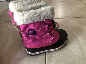 Sorel girl boots for Sale in Port St. Lucie, FL