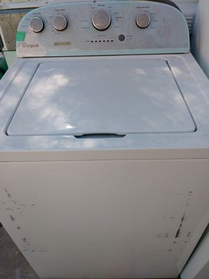 Whirlpool top load washer for sale ask about delivery amd install comes with warranty. Se habla espanol for Sale in Phoenix, AZ