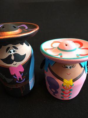 Hand Decorated Mariachi Salt Shakers - Saleros de Pareja de Mariachi for Sale in Chicago, IL