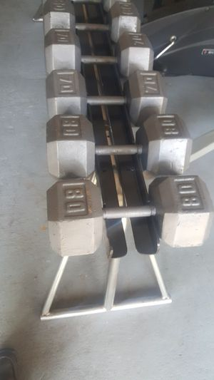 Heavy duty dumbell rack for Sale in Houston, TX