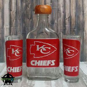 Kansas City Chiefs Shot Glass Set for Sale in Corona, CA