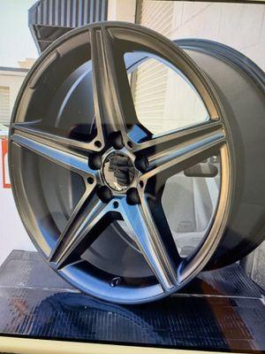 Mercedes 18x8.5/9.5 new rims tires set clk c300 cla for Sale in Hayward, CA