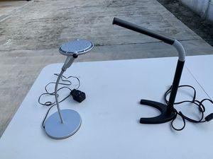 Two LED modern desk lamps for Sale in Hialeah, FL