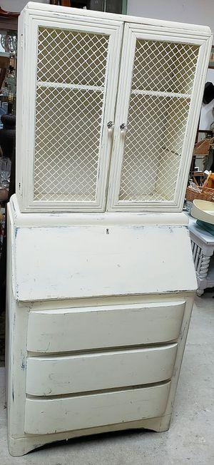 Vintage shabby chic secretary desk for Sale in Davie, FL