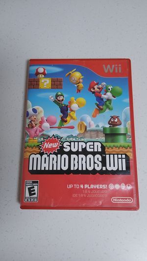 Mario wii for Sale in SAN YSIDRO, CA