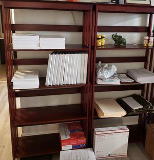 Wood bookshelves for Sale in Las Vegas, NV